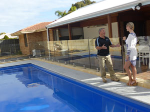 Clear Choice Pool Fencing