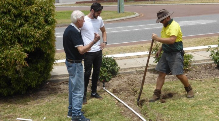 Jim's Mowing – Reticulation Install