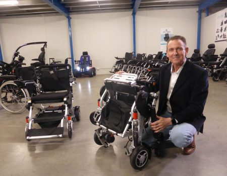 Out & About Healthcare – Companion: Folding Electric Wheelchairs
