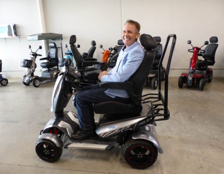 Out & About Healthcare – Vita X Mobility Scooter