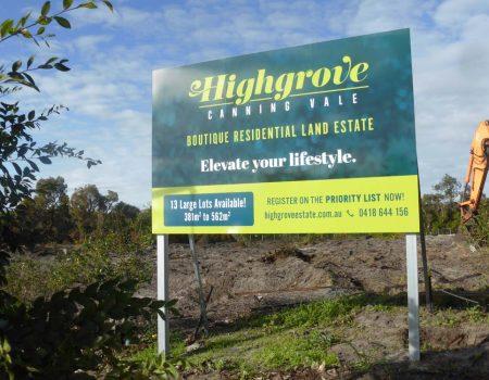 Highgrove Boutique Land Estate #1