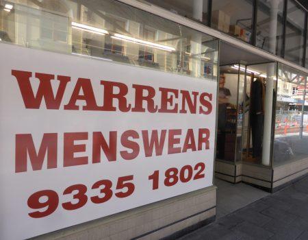 Menu Magazine – Checks out Warrens Menswear