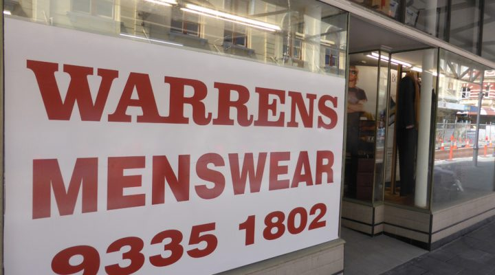 Menu Magazine – Checks out Warrens Menswear
