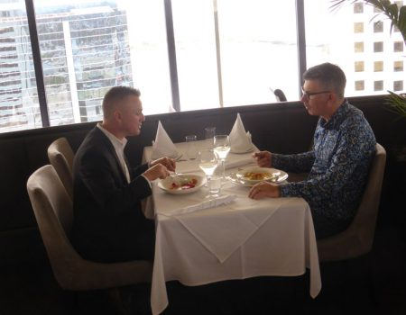 Menu Magazine – C-Restaurant – Gold Plate Winner