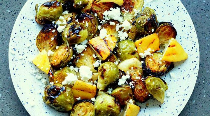 The Herdsman Market – Roasted Lemon Brussel Sprouts with Feta