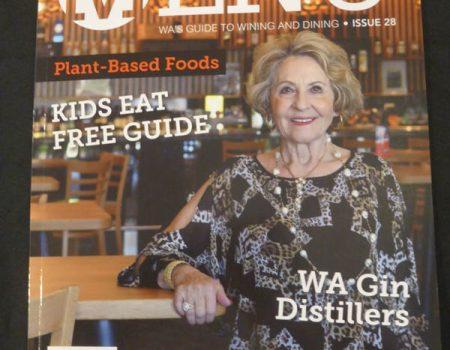 Menu Magazine  $8.95 at IGA's and Newsagents.